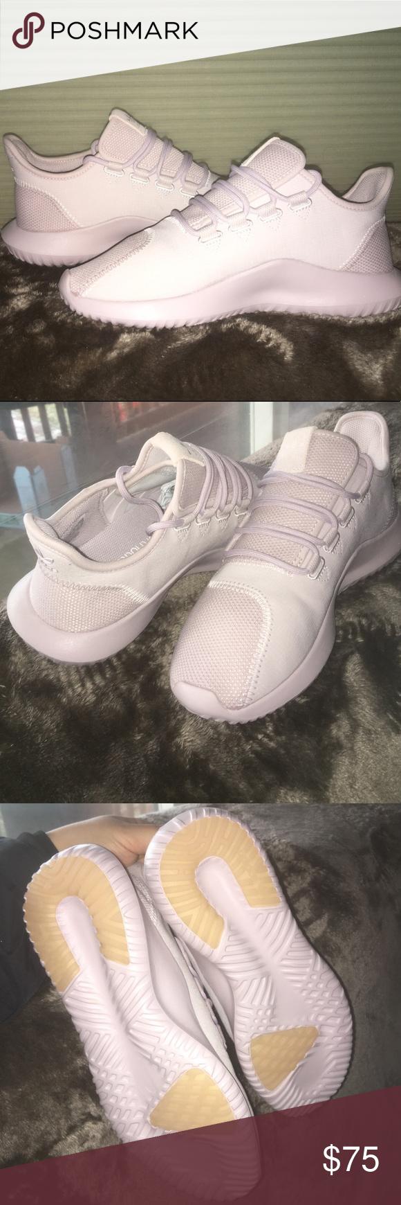 adidas un'ombra le adidas, di colore rosa e scarpe da ginnastica