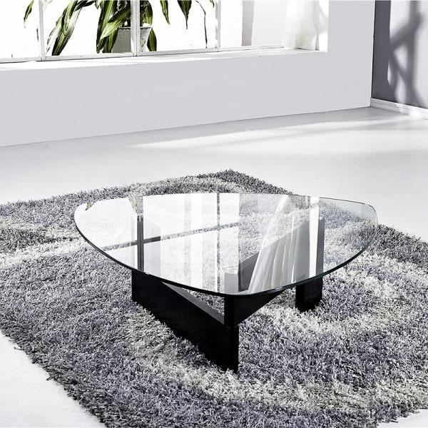 Table Basse Verre Indy Bois Wenge Noir Salon Salle A Manger A Bon Prix Moncornerdeco Table Basse Verre Table Basse Mobilier De Salon