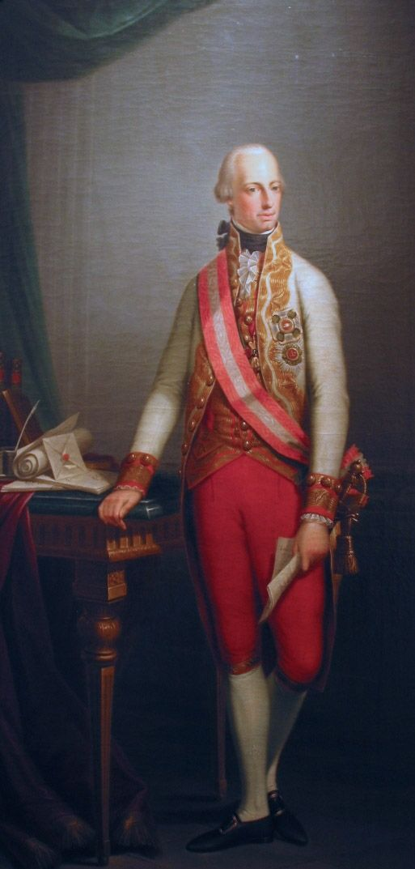 Kaiser Franz Ii Historical Painting Roman Empire Portrait