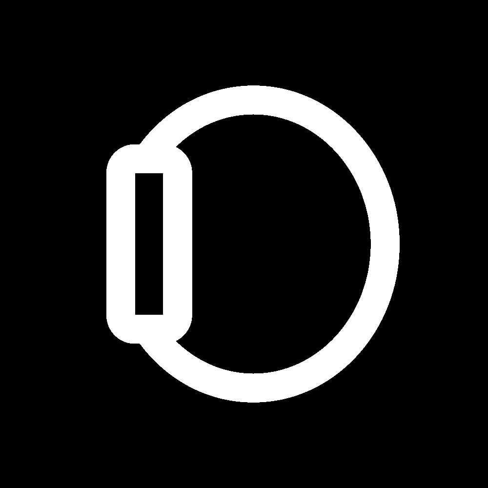 Black Watch Icon Black App App Icon App Icon Design