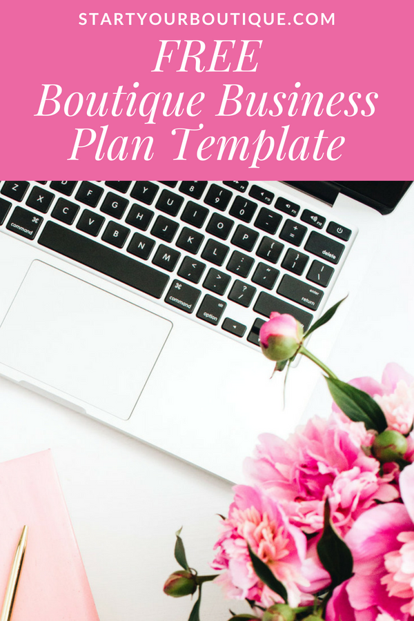 How To Create A Business Plan For Your Online Boutique One Page
