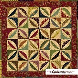 Kim Diehl Fat Quarter Scrap Bundle + Sunshine and Shadow quilt ... : kim diehl quilt patterns - Adamdwight.com