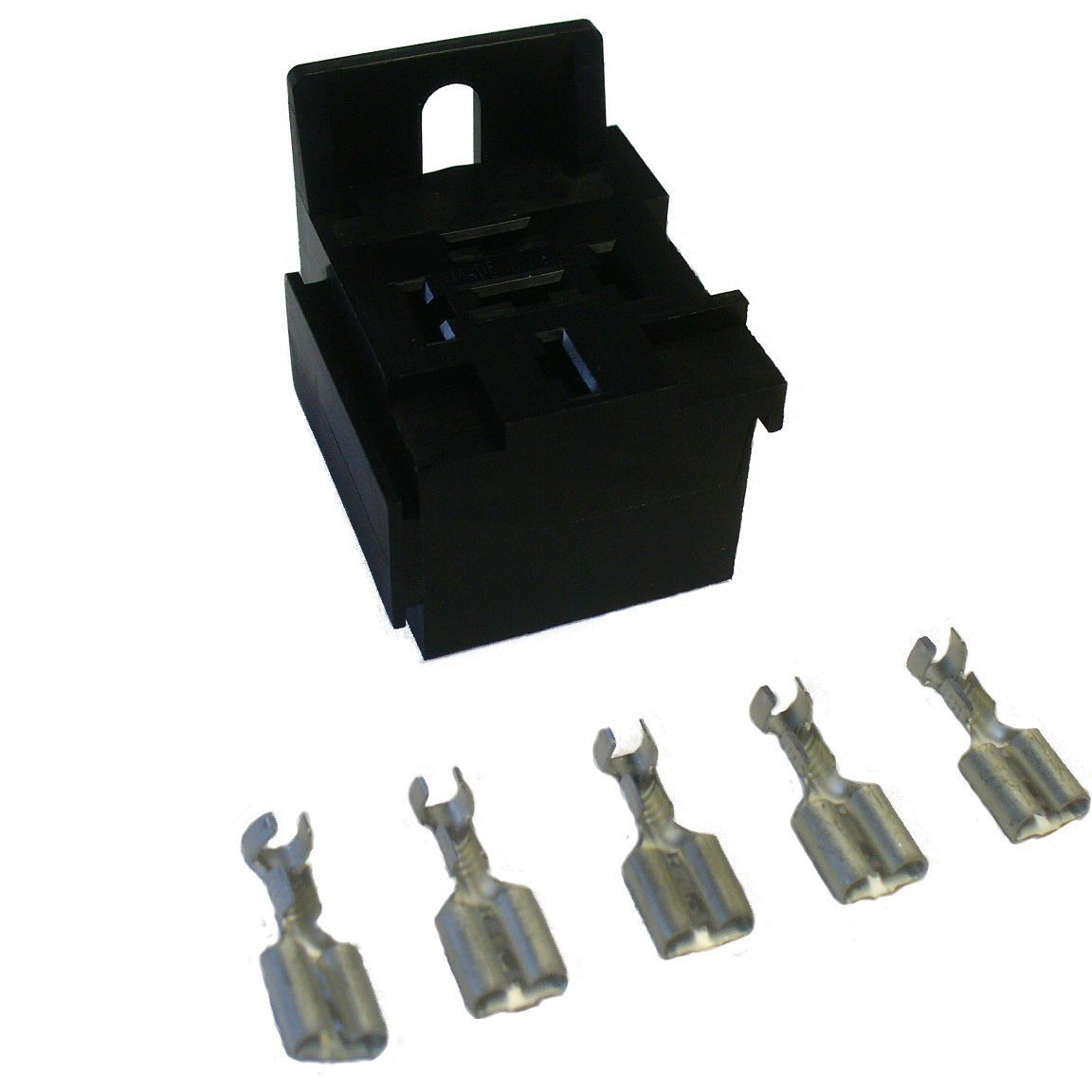 12V Mini Relay Socket Block Holder Connector With