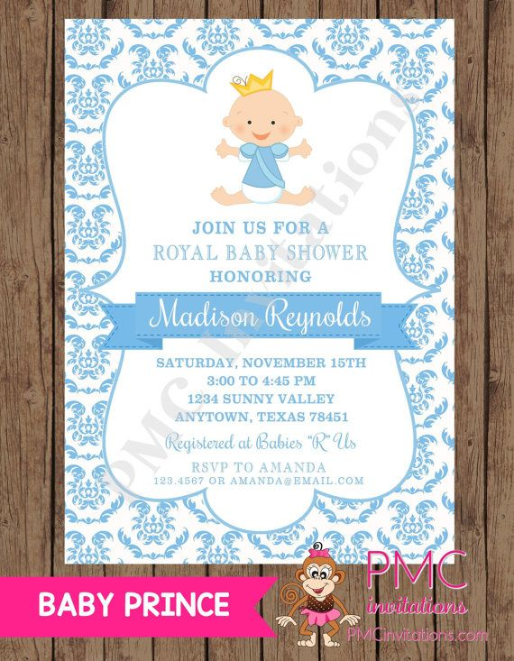 Baby Shower Invitations Free Templates Online Magnificent Royal Prince FREE Invitation