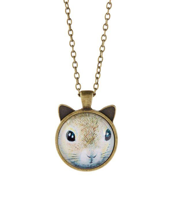 Look at this bubbly bows goldtone squirrel pendant necklace on look at this bubbly bows goldtone squirrel pendant necklace on zulily today aloadofball Image collections