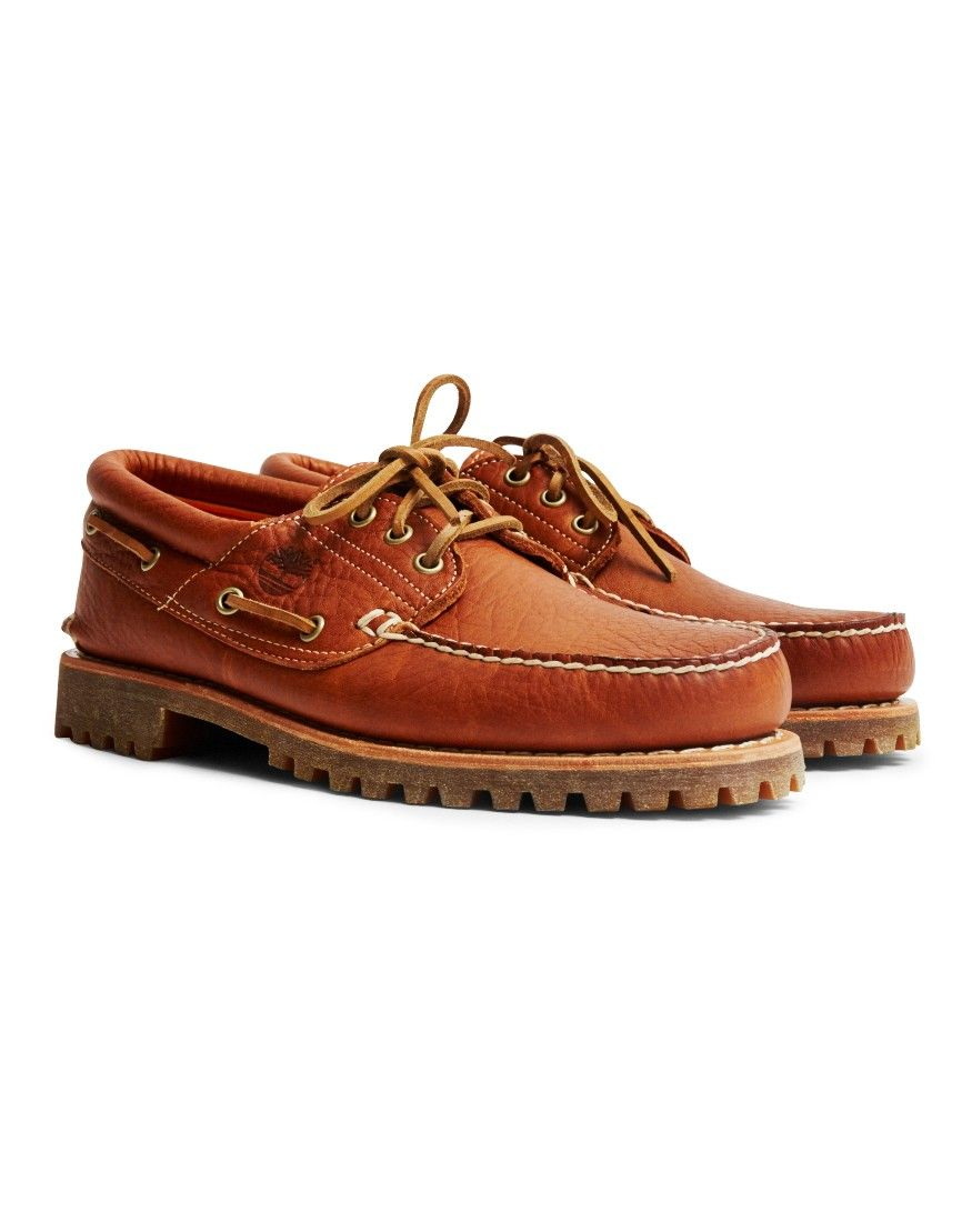 Timberland Authentics 3 Eye Classic Lug Tan | Timberlands