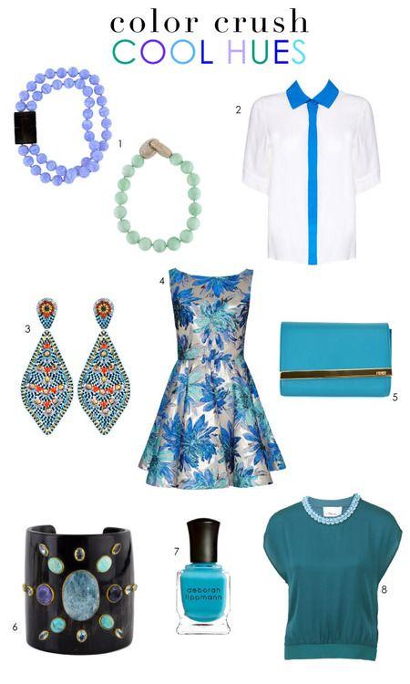 Color Crush: Cool Hues | Stanley Korshak