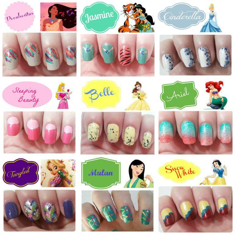 Disney Princess Inspired Nails Jpg 770 770 Disney Acrylic Nails Disney Nails Disney Nail Designs