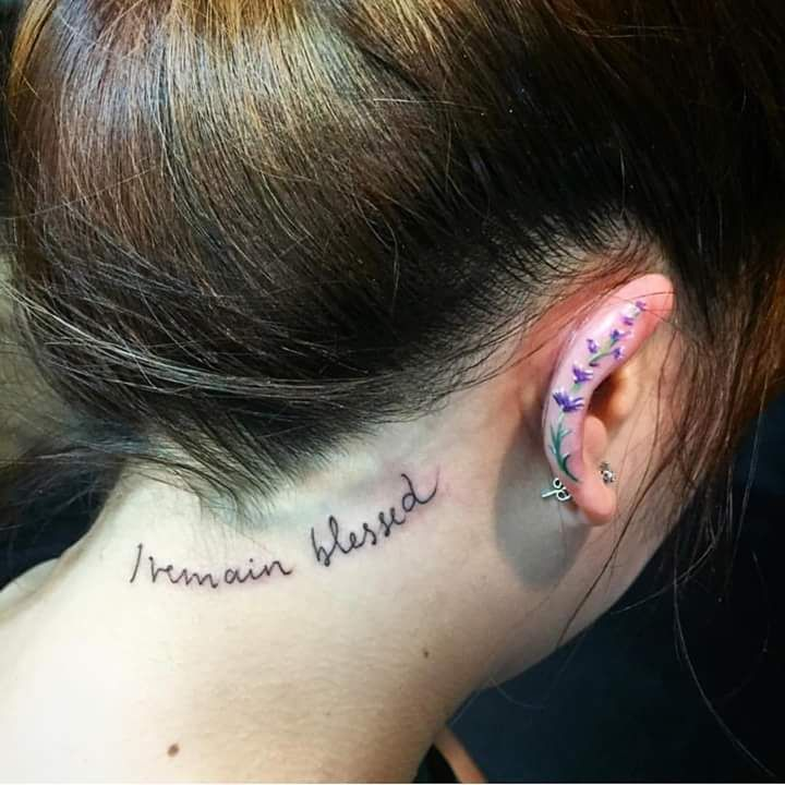 bfa4eecf25a388 69 Unconventional Ear Tattoo Designs to Drool Over   Ink   Tattoo ...