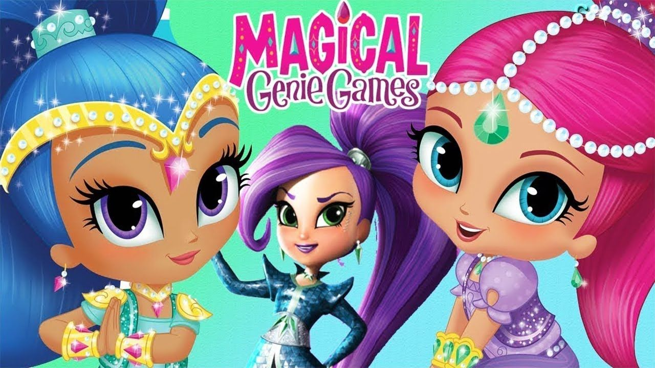 Shimmer and Shine Magical Genie Games for Kids Nick Jr