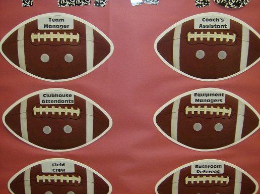 Sports Themed Classroom Jobs & Sports Themed Classroom - Ideas u0026 Printable Classroom Decorations ...