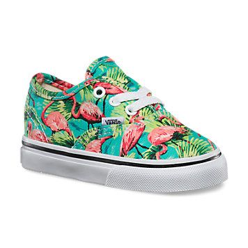 Toddlers Flamingo Authentic Shop Toddler Shoes At Vans Cute