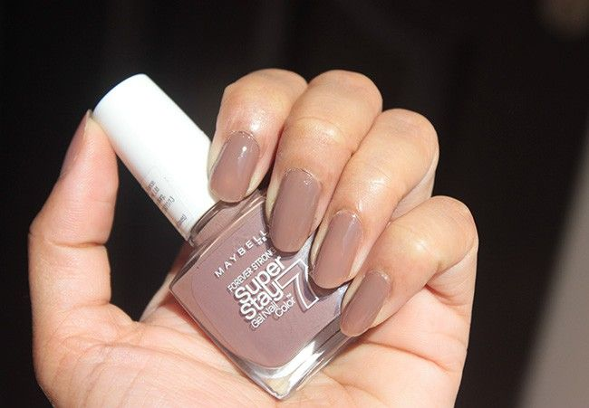 Maybelline Superstay 7 Day Gel Nail Polish Rosy Sand Review Swatches Nail Polish Gel Nail Polish Gel Nails