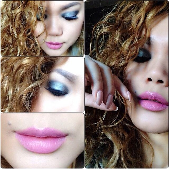 Makeup of the day collage