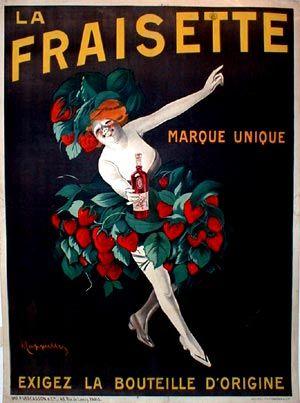 Leonetto Cappiello, La fraisette, 1909