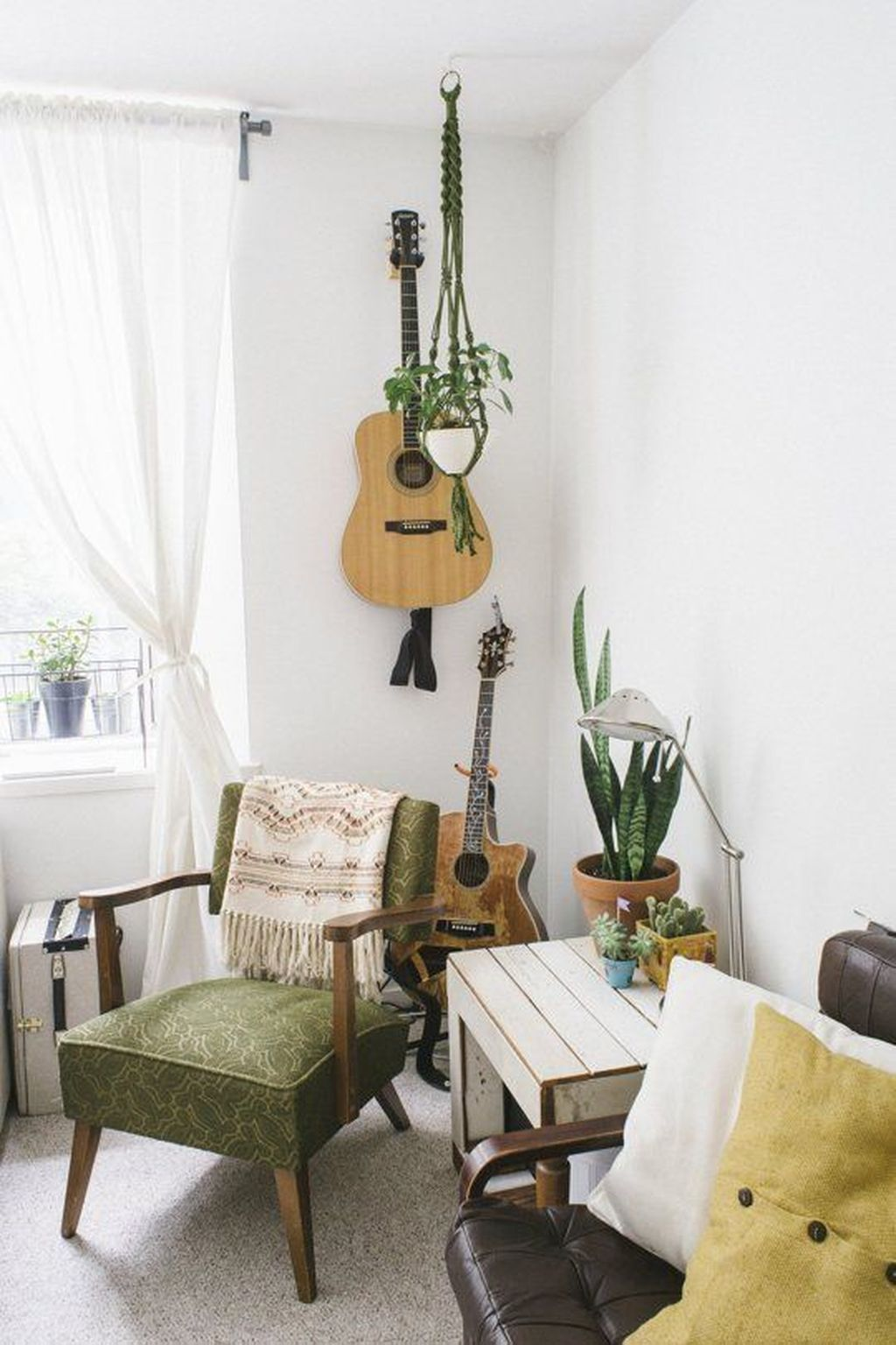 41 Stunning Boho Livingroom Decoration Ideas | Neutral color scheme ...