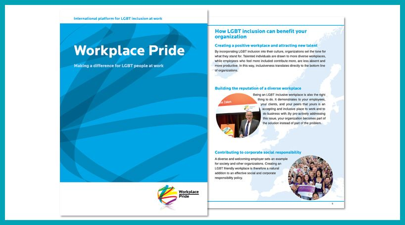 Brochure Workplace Pride