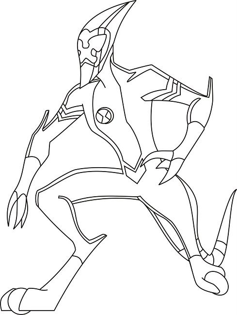 Ben 10 Coloring Pages Waybig Cartoon Coloring Pages Coloring Pages Ben 10
