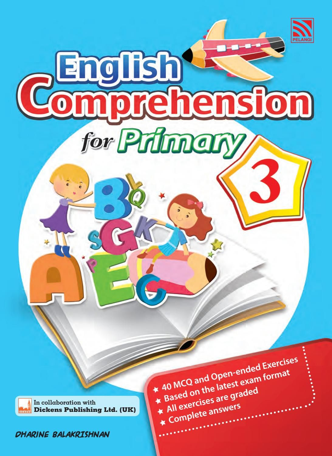 English Comprehension For Primary 3