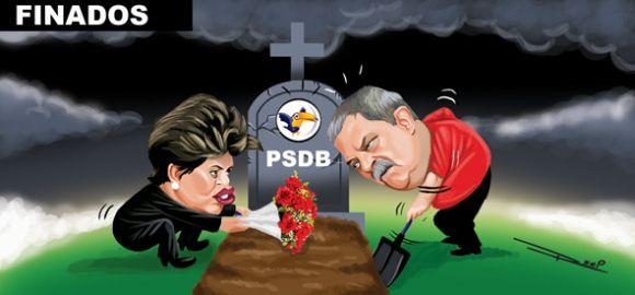 Dia de Finados em Brasília   Humor Político