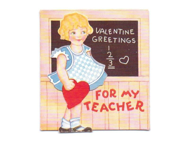 Valentines Day Cards For Teachers  PAPER VALENTINES  Pinterest
