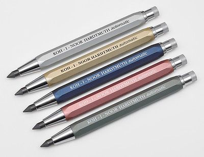 Koh I Noor Hardtmuth 5640 Automatic 56mm Artists Mechanical Pencil Leadholder