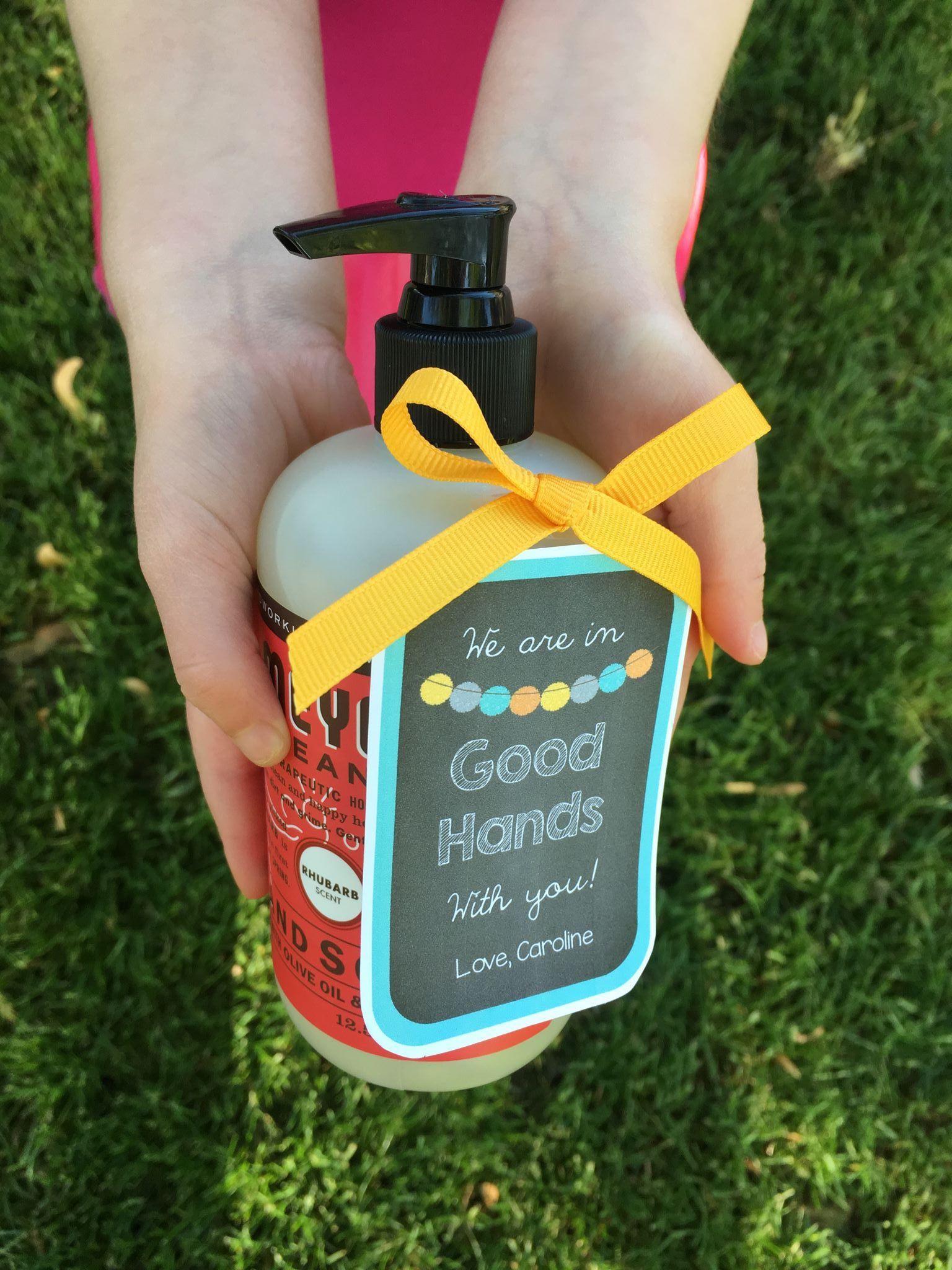 End of the year teacher gifts freebie nurse