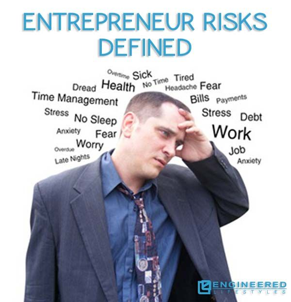 Thinking about becoming an #entrepreneur? Learn the #skills that every #entrepreneur needs to know as well as the #risks that every one must face. http://www.engineeredlifestyles.com/entrepreneur/entrepreneur-risks.html #entrepreneurial #entrepreneurship