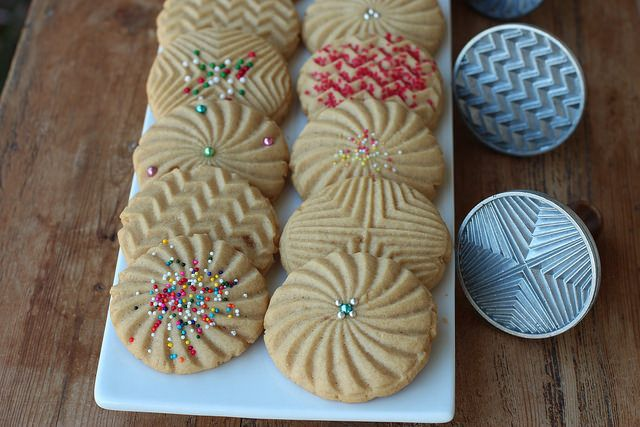 Brown Sugar Cookies With Nordic Ware Cookie Stamps