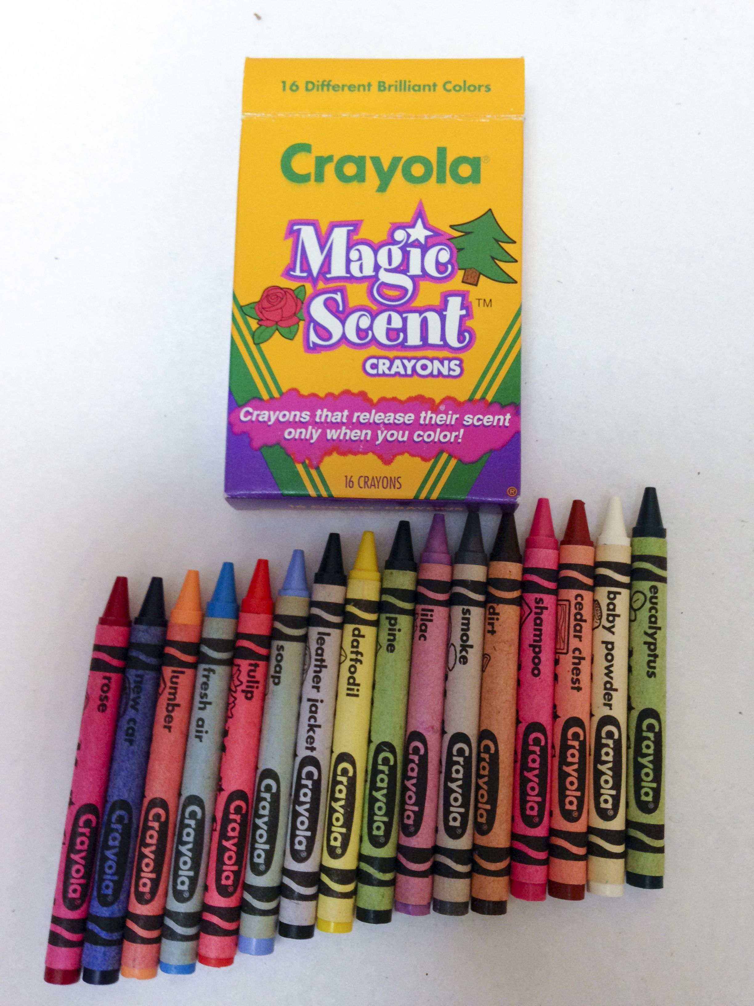 Crayola Magic Scent Crayons What S Inside The Box Crayola