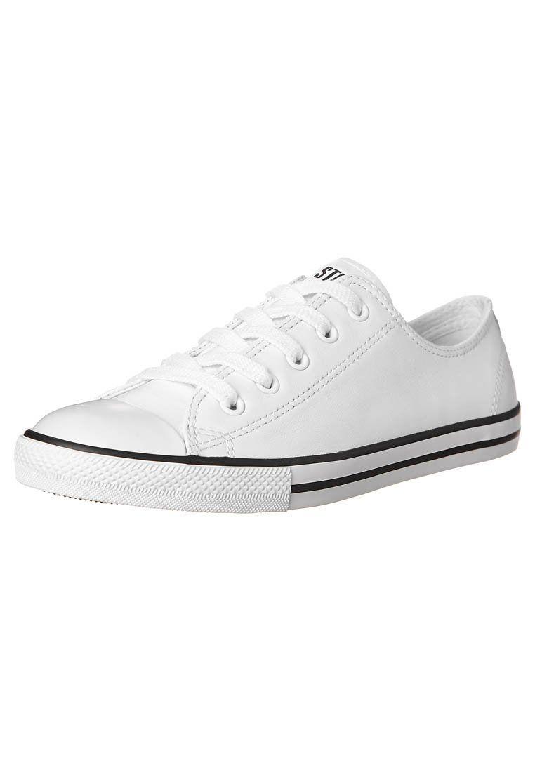 Converse - CHUCK TAYLOR ALL STAR OX DAINTY LEATHER - Zapatillas - blanco