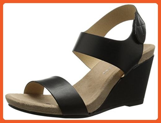 Cl By Chinese Laundry Women S Tilly Wedge Sandal Black Burnished