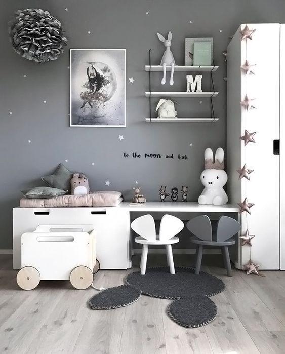 toddler bedroom miffy rabbit cute led