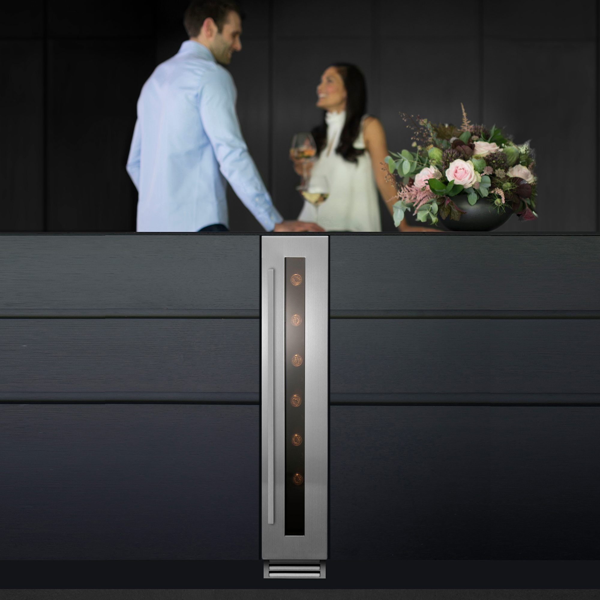 Caple wi157 under counter wine in stainless