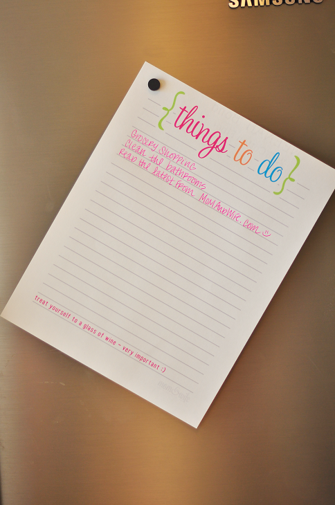Get Organized! 10 Free Printables | How Does She...