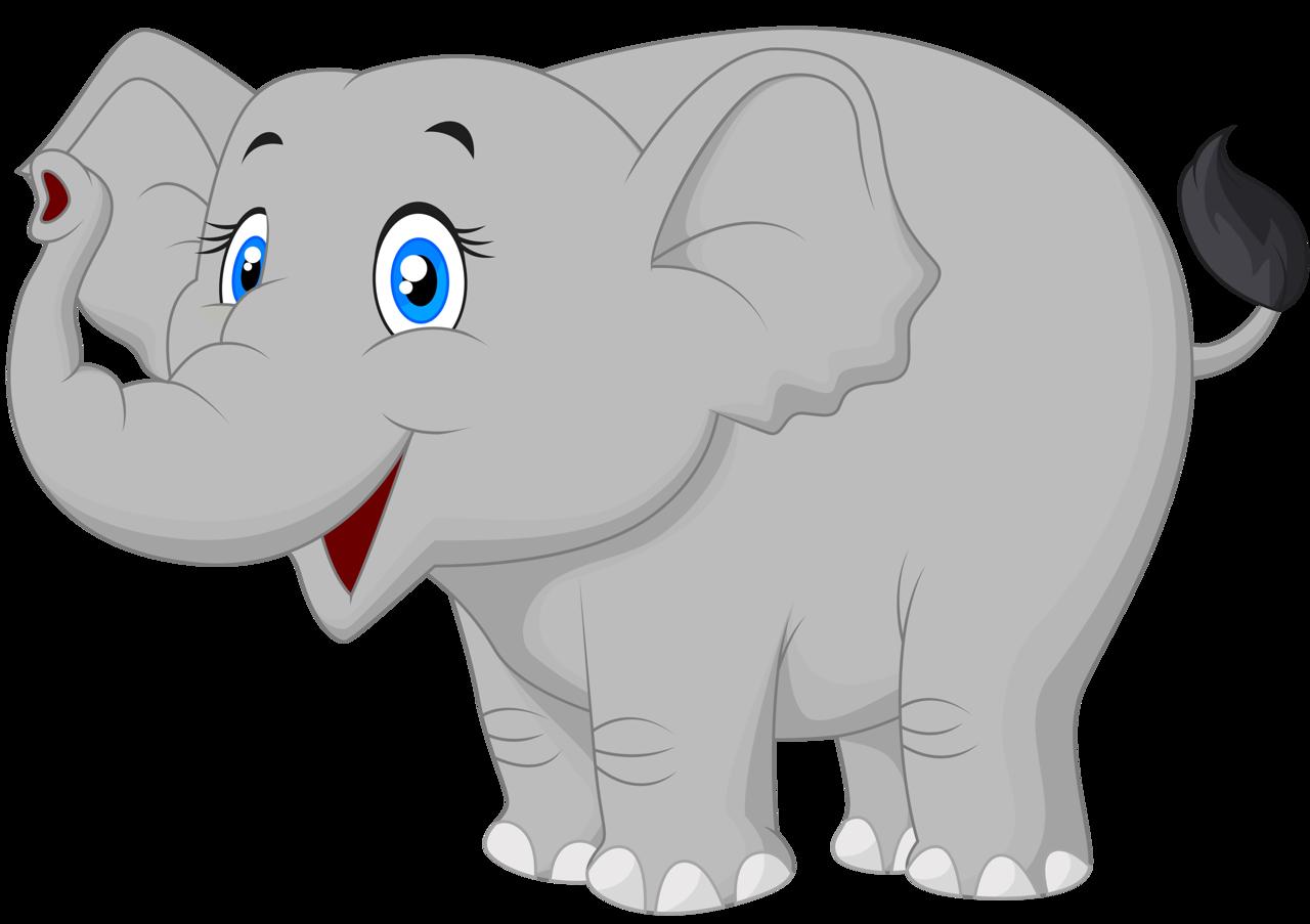 Cartoon elephant vector (9) [преобразованный].png | Pinterest | Clip ...