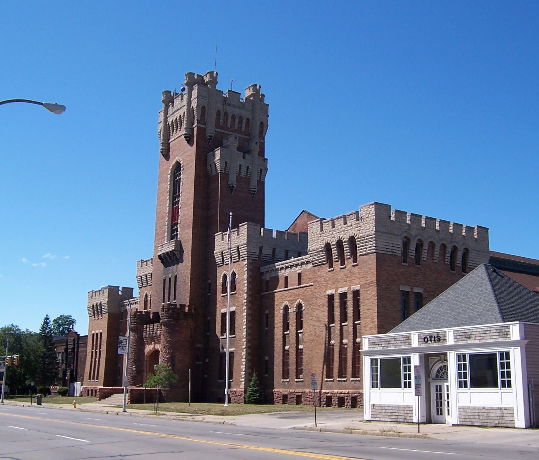 Rochester Main Street Armory - Exterior