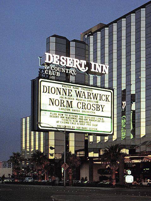 Desert Inn Marquee Old Vegas Las Vegas Nevada Vegas