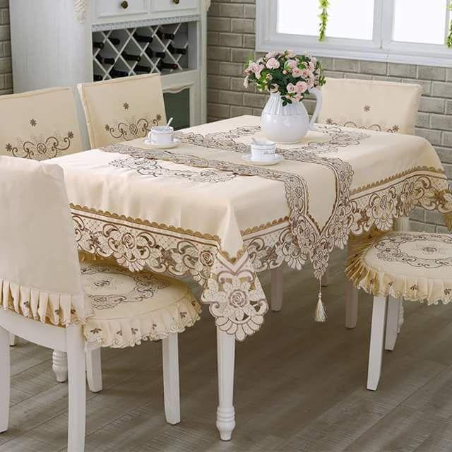 أشكال أكثر من رائعة ديال Les Nappes للطاولات المستطيلة موقع يالالة Yalalla Com عالم المرأة بعيون مغربية Living Room Upholstery Home Decor Table Covers Wedding
