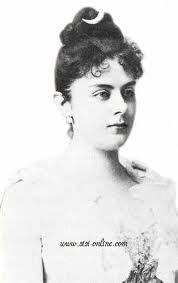 Baroness Mary Vetsera.  Mistress of Crown Prince Rudolph.  Found dead with him at Mayerling.