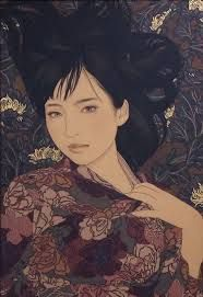 Ikenaga Yasunari - Japanese Illustration - Nihonga Style