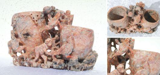 Pinselwascher aus Marmor