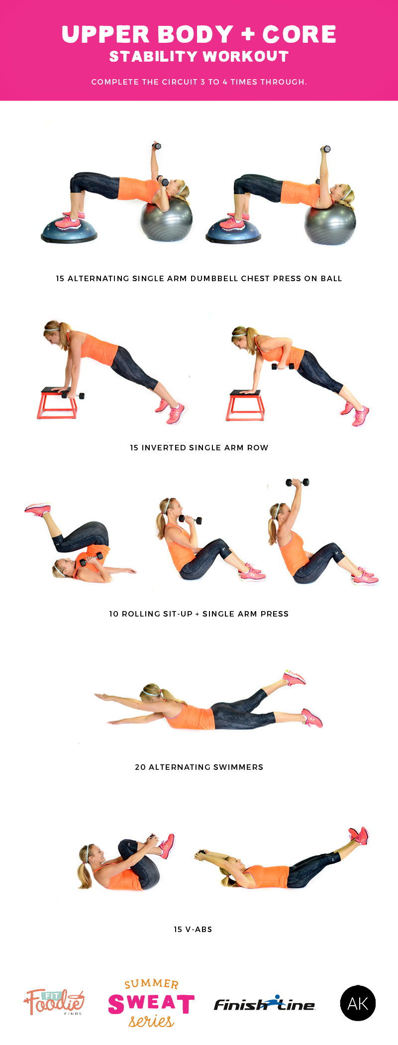 Do this stability workout that combines upper body ...