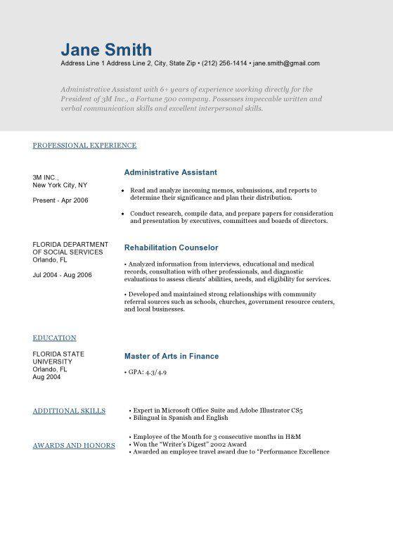MountRushmoreDarkBlueResume Template  Resume Template