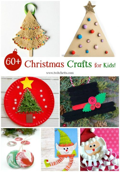 Christmas Crafts For Kids Over 60 Amazing Holiday Crafts For Young