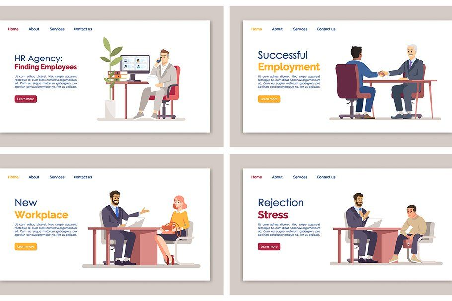 Best HR manager landing page in 2020 Landing page, Page
