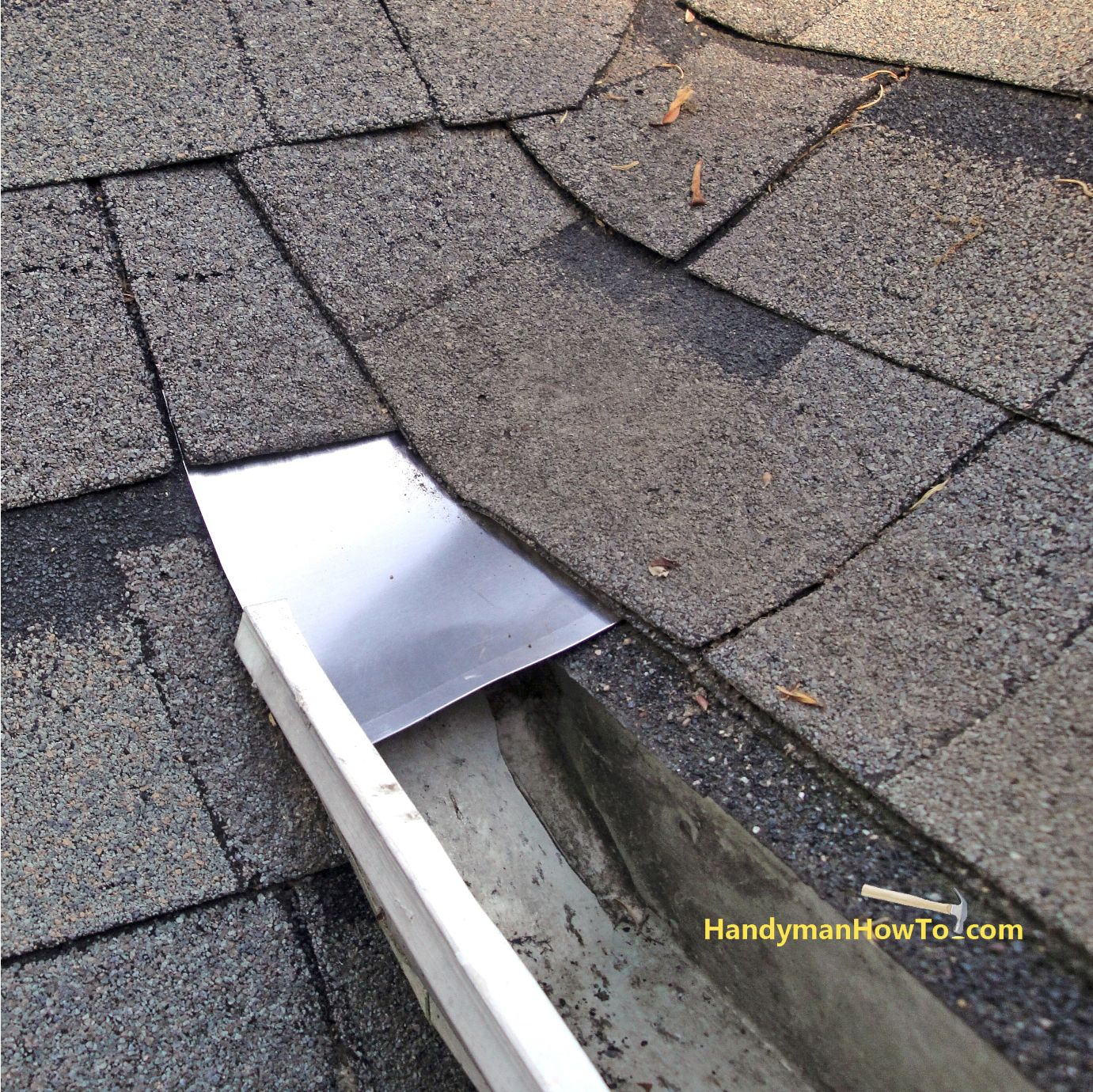 How To Repair Rotted Soffit And Fascia Rehang The Gutter Roof Roof Installation Roof Repair