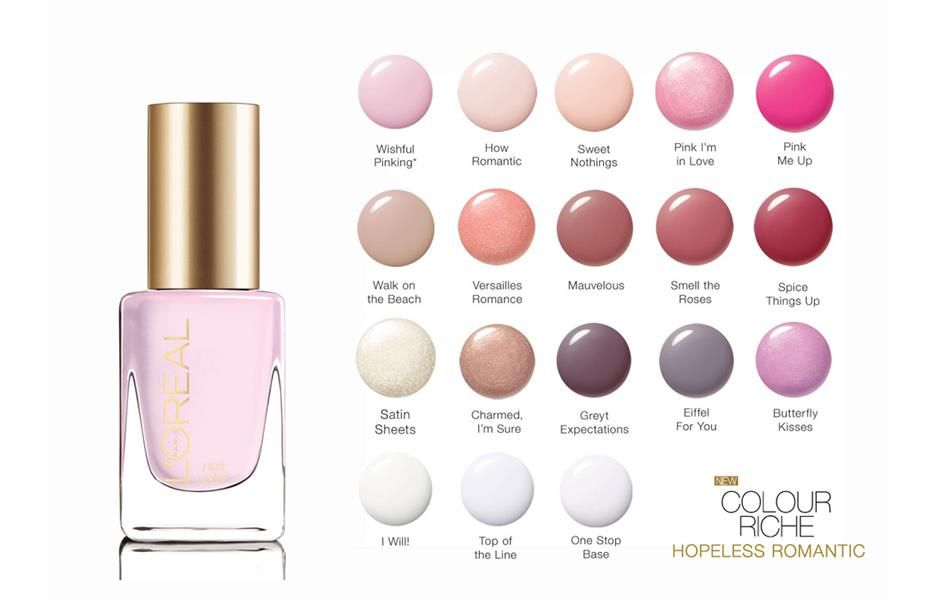 L\'Oreal Paris Colour Riche Nail Review and Swatches | Page Loves ...