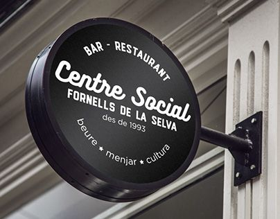 Download Check Out New Work On My Behance Portfolio Social Center Fornells De La Cafe Signage Neon Box Nightclub Design