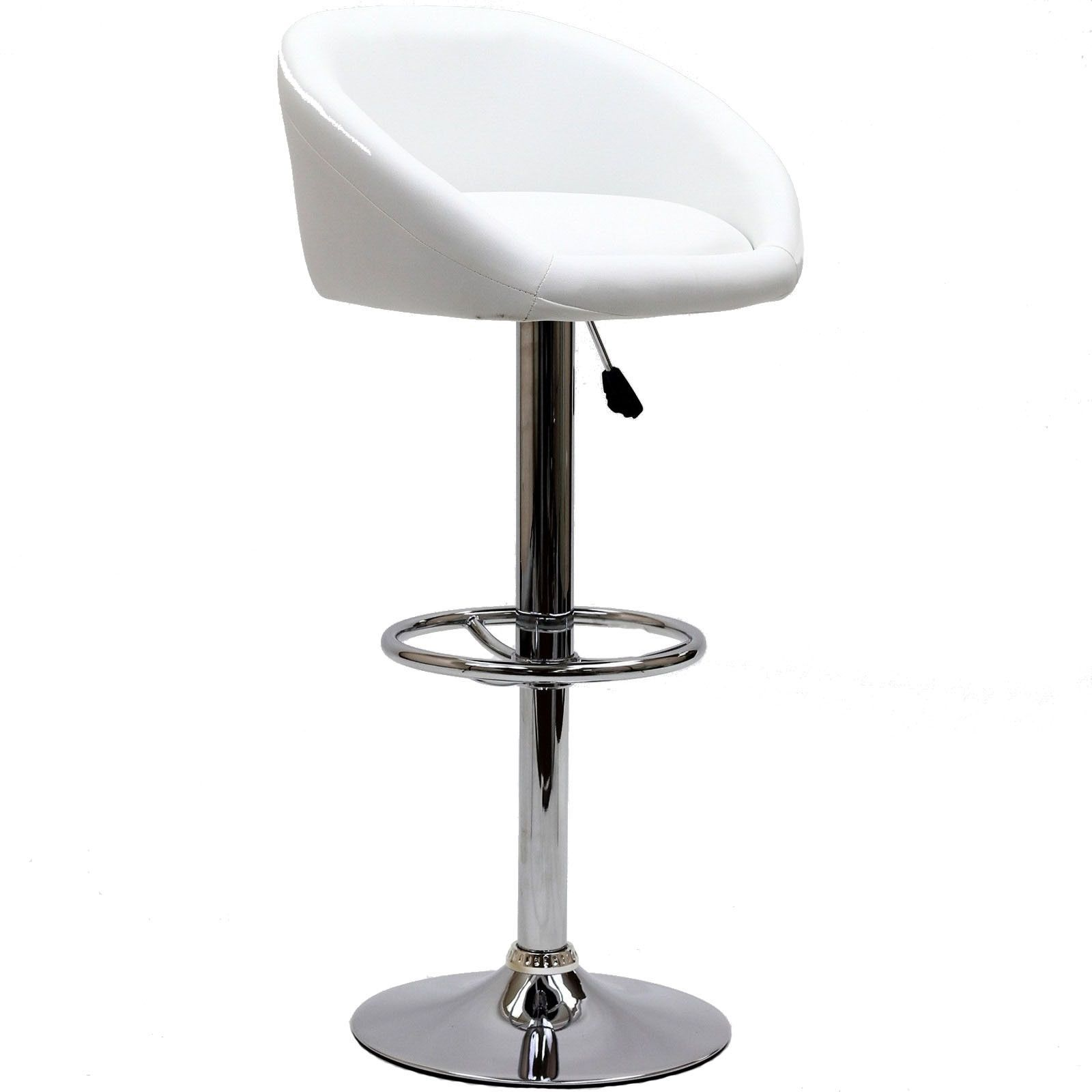 Modway CAD Bar Stool in White